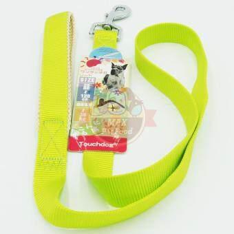 Touchdog สายจูงไนลอนสีเขียวสะท้อนแสง ขนาด XL (25mm) 1 ชิ้น