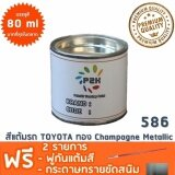 ความคิดเห็น สีแต้มรถ Toyota 586 ทอง Champagne Metallic ยี่ห้อ P2K