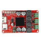 โปรโมชั่น Tpa3116 2 50W Wireless Bt 4 Audio Receiver Board Stereo Amplifier Module Dc 8 26V With Remote Control Intl ถูก