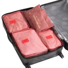Travel Luggage Clothes Classification Finishing Storage Bag Set For Suitcase Clothing Sorting Organize Bag Intl เป็นต้นฉบับ