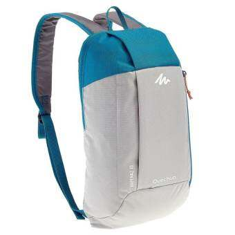 Travel Sportsกระเป๋าเป้จักรยานกันน้ำ เดินป่าQuechua รุ่น ARPENAZ 10L (สีเทา/ฟ้า)-