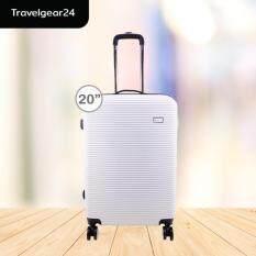 ทบทวน ที่สุด Travelgear24 กระเป๋าเดินทางขนาด 20 นิ้ว วัสดุ Abs Model A1006 White สีขาว