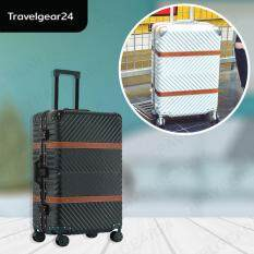 ขาย Travelgear24 กระเป๋าเดินทางขนาด 20 นิ้ว โครงอลูมิเนียม อลูมิเนียม วัสดุ Abs Pc Model A1902 Black สีดำ Travelgear24 ถูก