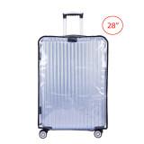ราคา Travelgear24 พลาสติกใสคลุมกระเป๋าเดินทาง 28 นิ้ว กันเปื้อน กันริ้วรอยและกันน้ำ Pvc Cover Suitcase ออนไลน์ กรุงเทพมหานคร