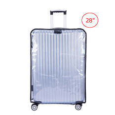 ซื้อ Travelgear24 พลาสติกใสคลุมกระเป๋าเดินทาง 28 นิ้ว กันเปื้อน กันริ้วรอยและกันน้ำ Pvc Cover Suitcase ใน กรุงเทพมหานคร