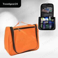 โปรโมชั่น Travelgear24 กระเป๋าเครื่องสำอางแขวนได้แบบพกพา ตอนเดียว Orange ส้ม กรุงเทพมหานคร