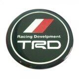 ราคา สติกเกอร์ติดดุมล้อ Trd Racing Develpment ขนาด 45Mm 1 ชุดมี 4 ชิ้น ที่สุด