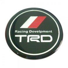 ราคา สติกเกอร์ติดดุมล้อ Trd Racing Develpment ขนาด 45Mm 1 ชุดมี 4 ชิ้น Trd เป็นต้นฉบับ