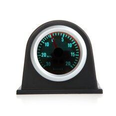 ซื้อ Turbo Boost เครื่องวัดมิเตอร์สำหรับรถยนต์รถ 2นิ้ว 52มม 30นิ้ว Hg 20Psi สีน้ำเงินสว่าง ออนไลน์ ถูก