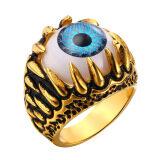 ขาย U7 พังก์สายตาปีศาจแหวนสำหรับผู้ชาย 18กิโลไบต์เป็นทองชุบเครื่องประดับแฟชั่นปาร์ตี้เสน่ห์ของขวัญ ทอง