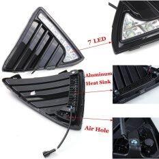 ขาย Ujs 2X 7Led Car Drl Lights Led Daytime Running Light For Ford Focus Fog Lamp 2011 2012 2013 2014 Intl ออนไลน์ จีน