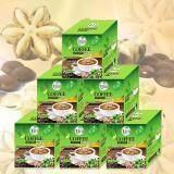 กาแฟถั่วดาวอินคา รสกลมกล่อม กล่องบรรจุ 12 ซอง 6 กล่อง Umb Sacha Inchi Coffee Mix เป็นต้นฉบับ