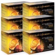 ทบทวน Unicity Bio Reishi Coffee Beverage ยูนิซิตี้ กาแฟผสมเห็ดหลินจือ เพื่อสุขภาพ บรรจุ 20 ซอง 6 กล่อง Unicity
