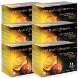 Unicity Bio Reishi Coffee Beverage ยูนิซิตี้ กาแฟผสมเห็ดหลินจือ เพื่อสุขภาพ บรรจุ 20 ซอง 6 กล่อง ใน ไทย