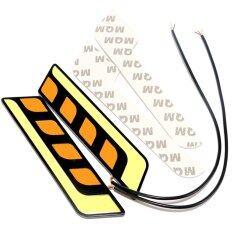 ราคา Universal 2Pcs Cob Led Car Drl Daytime Running Lights Turn Signal Lights Fog Lamps All In One Intl ที่สุด