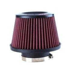ขาย Universal Auto Car Intake Air Filter Car Refitting High Flow Cone Filter Red Intl Vakind ถูก