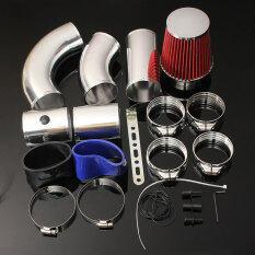 ซื้อ Universal Car Auto Racing Direct Cold Air Filter Injection Intake Kit System ใหม่
