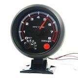 ราคา Universal Car Tachometer Gauge With Shift Light 8000 Rpm New 12V 3 75 Tacho Intl จีน