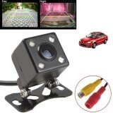 ซื้อ Universal Mini 4 Led Dc 12V Hd Night Vision Rear View Car Backup Parking Camera Intl ใน จีน
