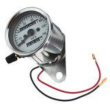 ขาย Universal Motorcycle Dual Odometer Speedometer Gauge Test Miles Speed Compact ใน จีน
