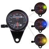 ขาย ซื้อ ออนไลน์ Universal Motorcycle Odometer Speedometer Dual Reading Intl