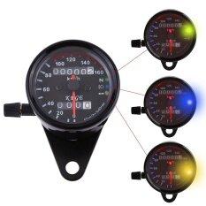 ราคา Universal Motorcycle Odometer Speedometer Dual Reading Intl Unbranded Generic ใหม่
