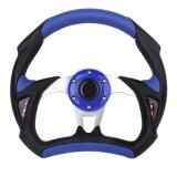 ขาย Universal Pu Leather Car Racing Steering Wheel Sport F1 Jdm Auto Blue Black Generic ผู้ค้าส่ง