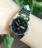 ซื้อ Us Submarine นาฬิกาข้อมือหญิง รุ่น J035M หน้าปัดดำ ถูก