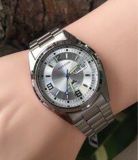 ราคา Us Submarine นาฬิกาข้อมือหญิง รุ่น J035M หน้าปัดเงิน ใหม่ล่าสุด