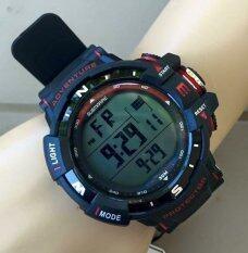 ซื้อ Us Submarine นาฬิกาข้อมือ Sport Watch Tp1338M Black Red Us Submarine