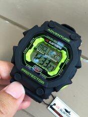 ราคา Us Submarine นาฬิกาผู้ชาย รุ่น Tp1280M สีเขียว ใน กรุงเทพมหานคร