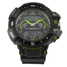 ขาย Us Submarine นาฬิกาข้อมือ สายซิลิโคน สีดำ เขียว รุ่น Us0016 ถูก ใน Thailand