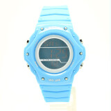 ซื้อ Us Submarine นาฬิกาข้อมือผู้หญิงและเด็ก สายยางและซิลิโคน ระบบดิจิตอล หน้าปัดเป็นสีฟ้า Usdd 007 Blue ออนไลน์