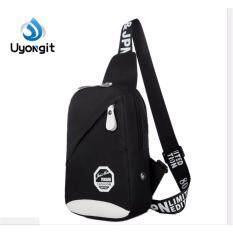 ราคา Uyongit กระเป๋าคาดข้าง มีซิบ ซับหลังกระเป๋า ใหม่ล่าสุด