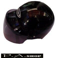 ขาย หมวกกันน็อคเลดี้ครึ่งใบ V Tech Boss สีดำ พร้อม แว่นกันลมสีชา ตัวหมวกได้ ม อ ก Cps ออนไลน์