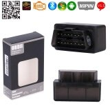 โปรโมชั่น V1 5 Elm327 Bluetooth 2 Auto Diagnostic Tools Obd2 Car Code Readers Scanner Black Intl Unbranded Generic
