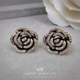 ส่วนลด Value Jewelry ต่างหูแฟชั่นประดับเพชร Cz รุ่น Er2174 Gold Plated Value Jewelry ใน กรุงเทพมหานคร