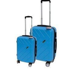 ส่วนลด สินค้า Van Burgh กระเป๋าเดินทาง รุ่น 1606ชุด 2 ใบ Size 24 28 นิ้ว สีฟ้า Blue 28 นิ้ว หรือมากกว่า