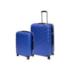 ขาย Van Burgh กระเป๋าเดินทาง รุ่น 213 ชุด 2 ใบ Size 20 28 นิ้ว สีน้ำเงิน Blue 28 นิ้ว หรือมากกว่า ผู้ค้าส่ง