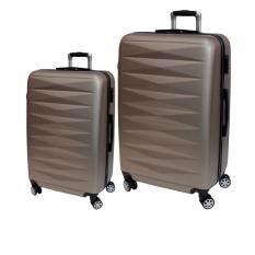 ขาย Van Burgh กระเป๋าเดินทาง รุ่น 7200 ชุด 2 ใบ Size 24 28 นิ้ว สีทอง Gold 28 นิ้ว หรือมากกว่า Van Burgh เป็นต้นฉบับ