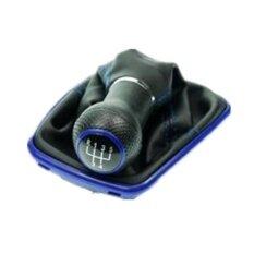 Veecome 5 สปีดเกียร์หนังเทียมหนังกันฝุ่น Boot สำหรับ Vw Bora Volkswagen สี: พลาสติกสีฟ้า - นานาชาติ.