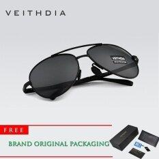 ขาย Veithdia 2017 แบรนด์ใหม่โพลาไรซ์แว่นตากันแดดผู้ชายอลูมิเนียมกรอบแว่นตาขับรถแว่นตา 1306 ผู้ค้าส่ง