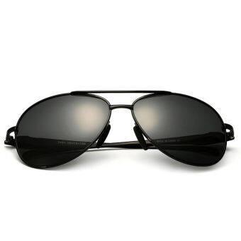 a611d7a701b แนะนำ VEITHDIA 2468 Fashion Driving Polarized Sunglasses for Men Alloy  Black frame Grey lens (Intl