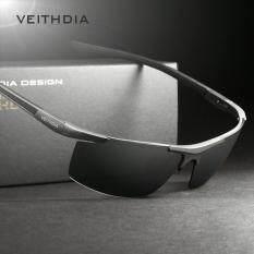 ราคา Veithdia อลูมิเนียมแมกนีเซียมแว่นตากันแดดผู้ชายแว่นตากันแดดกระจกแว่นตากันแดด Oculos แว่นตาชายอุปกรณ์เสริมสำหรับผู้ชาย 6588 ที่สุด
