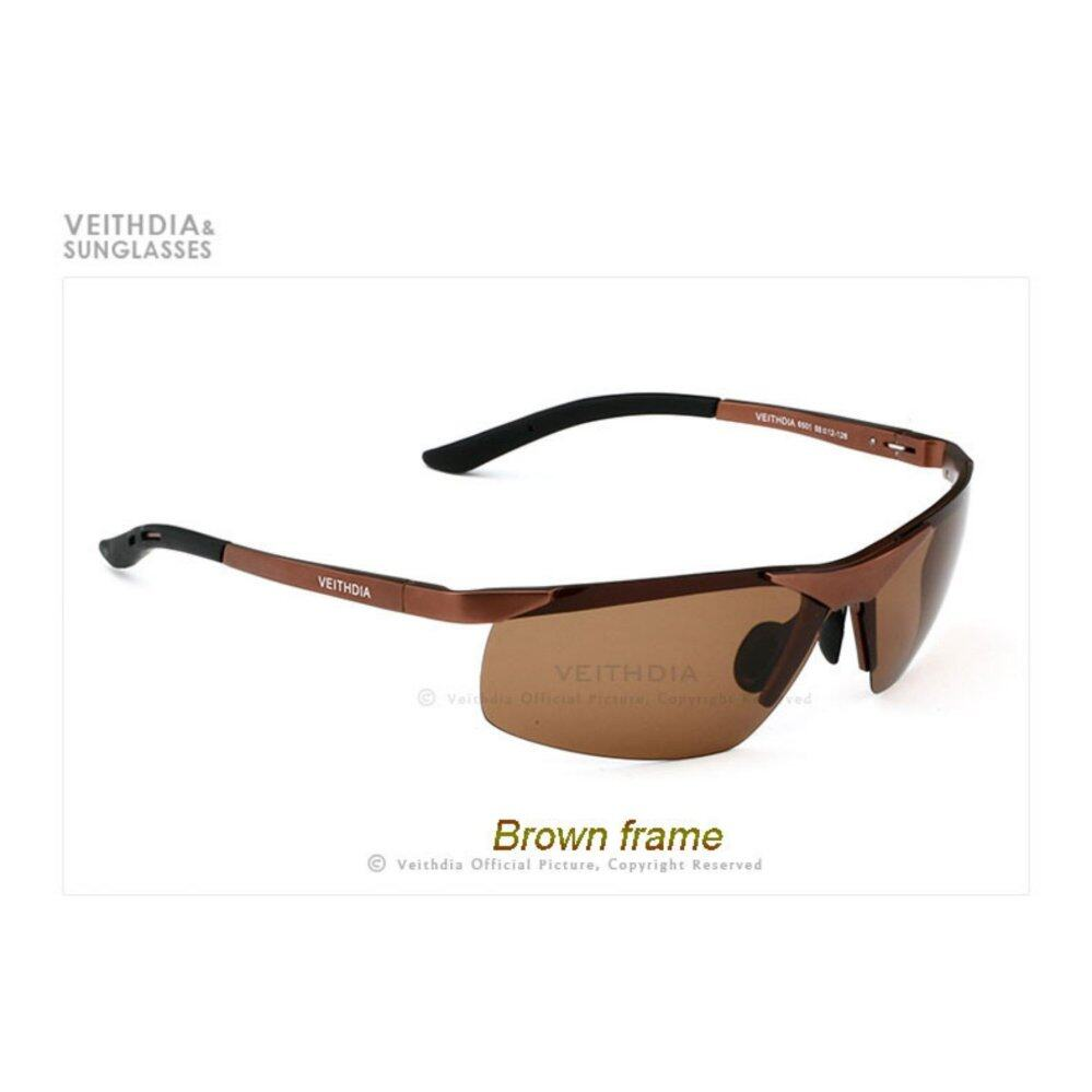 BRUNO DUNN Aluminum Magnesium Polarized Sunglasses Men's Sports Sun glasses Night vison Driving Mirror Male Eyewear Accessories Goggle 6501