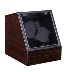 ราคา Viiways High Quality Double Watch Winder In Ebony High Gloss Intl เป็นต้นฉบับ