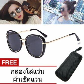 Sunglasses แว่นกันแดดผู้หญิง แว่นตาแฟชั่น แว่นตาเกาหลี
