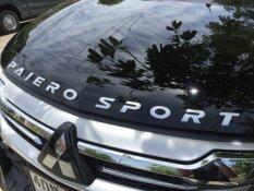 ซื้อ Visa Autoshop ตัวนูนติดรถยนต์ 3D Emblem Pajero Sport Type1 Matte Silver ถูก Thailand