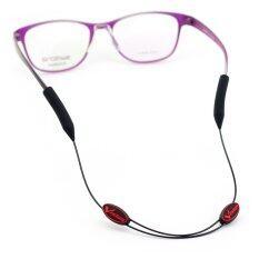 ขาย ซื้อ ออนไลน์ Vision สายคล้องแว่นปรับสั้นยาวได้ รุ่น Vis Egstp01 ดำ แดง