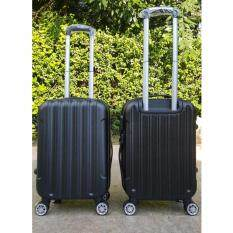 ราคา Vivatis กระเป๋าเดินทาง Abs ขนาด 20 สีดำ ล้อขนาดใหญ่ 4 ล้อแบบหมุนได้ 360องศา มาพร้อมล็อคแบบตั้งรหัส เป็นต้นฉบับ Vivatis